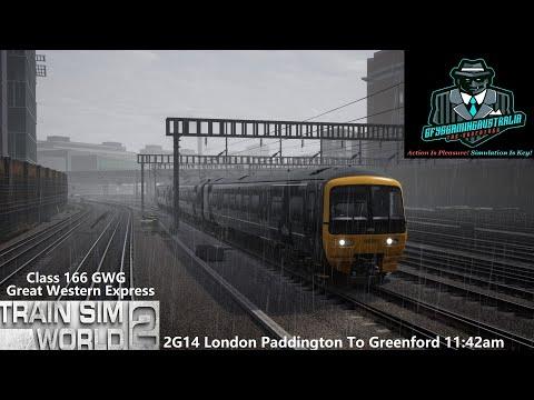 Train Sim World 2 2G14 London Paddington To Greenford 11:42am Great Western Express |