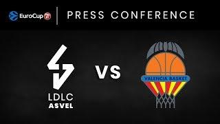 Press Conference LDLC ASVEL vs Valencia Basket