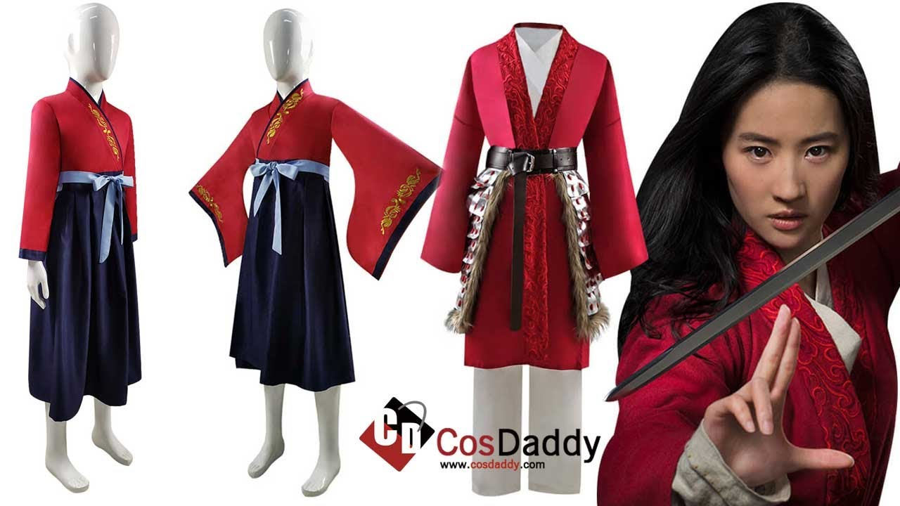 2020 Disney Mulan Cosplay Hua Mulan Costume For Adults Kids Ideas Cosdaddy Youtube