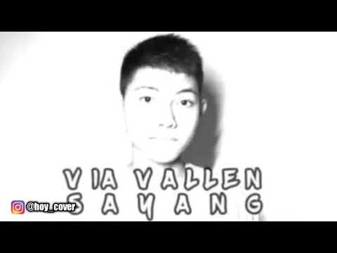 Via Vallen - Sayang Cover By Auw Genta( The Voicee Kids Indonesia)