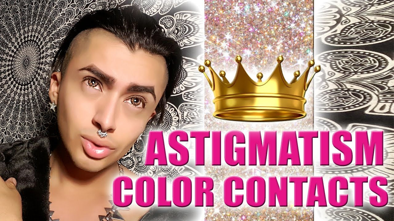 review queen contacts astigmatism color contacts youtube