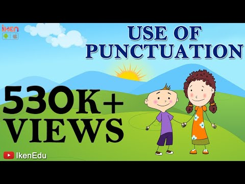Learn Use Of Punctuation : English Grammar Video