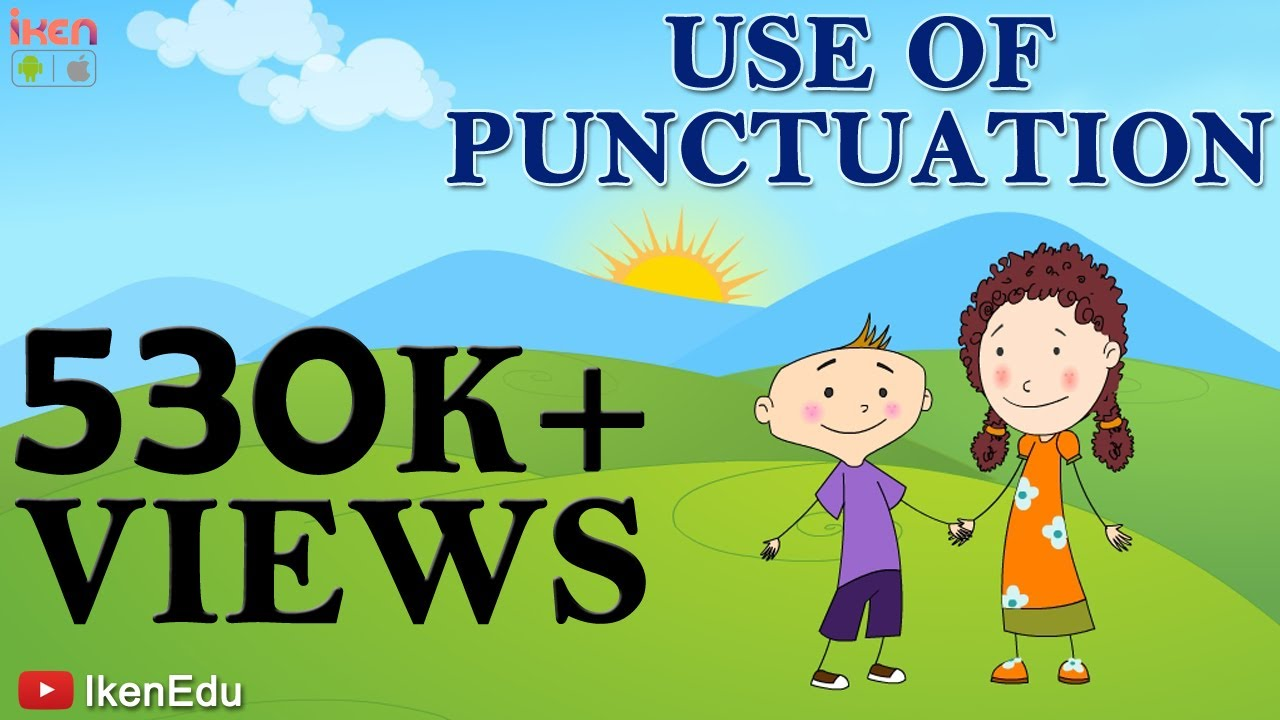 also learn use of punctuation english grammar video youtube rh