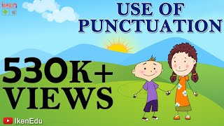Repeat youtube video Learn Use Of Punctuation : English Grammar Video