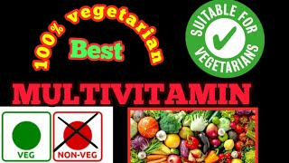 100 % vegetarian best multivitamins !! multiminerals !! Biotin !! folic acid and zinc with lycopene