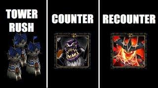 Instant Tower Rush + Taטern Hero | Warcraft 3 TFT