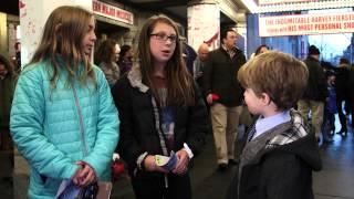 Kids Love KINKY BOOTS on Broadway!