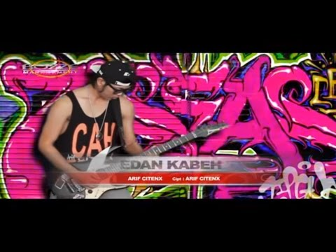 Arif Citenx - Edan Kabeh [Official Music Karaoke Video]