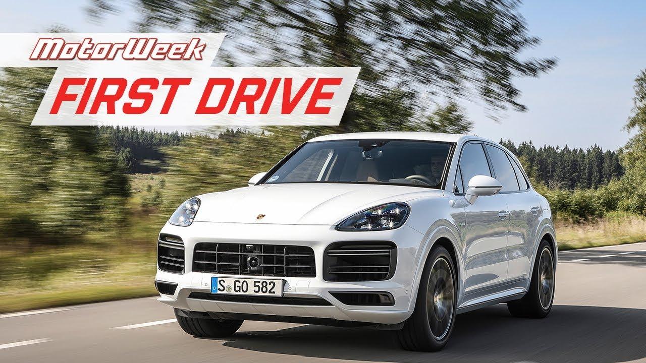 2020 Porsche Cayenne Turbo S E Hybrid Motorweek U S First Drive Youtube
