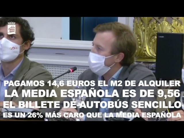 Borja Corominas Debate de Ordenanzas Fiscales 6