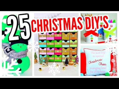 25 DIY Christmas Decorations! Winter Room Decor Ideas!