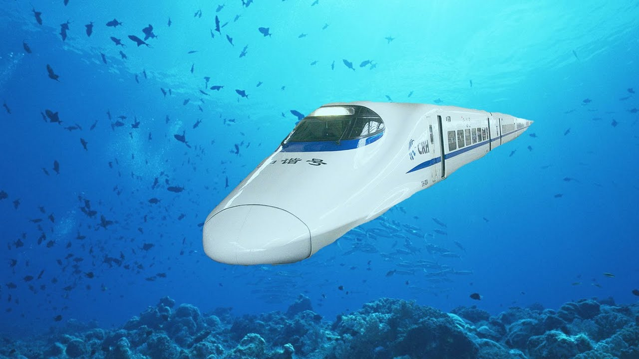 China S Underwater High Speed Train To America China