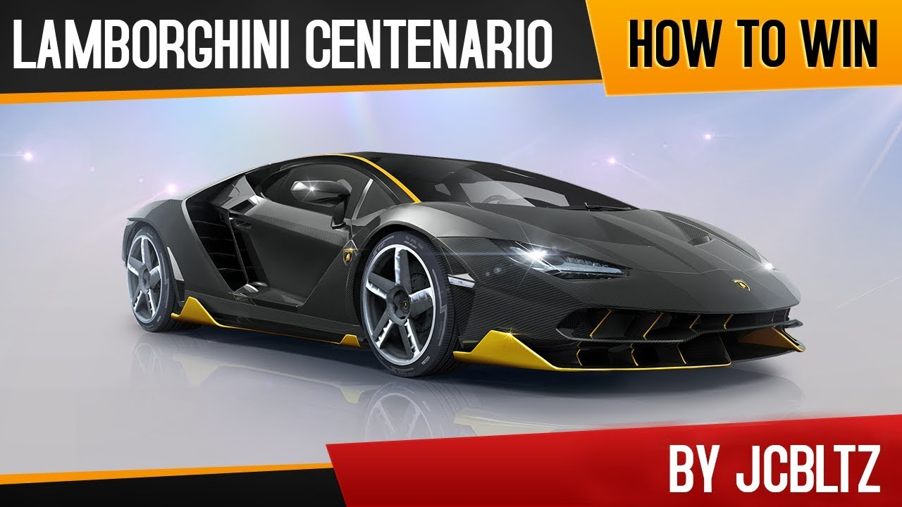 How To Win Lamborghini Centenario