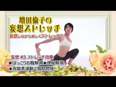 ダイエット!ぽっこりお腹解消!便秘改善!脂肪燃焼!妄想ストレッチ#3