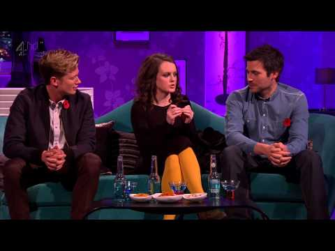 Downton cast on Alan Carr_Chatty Man  2112012 HD.