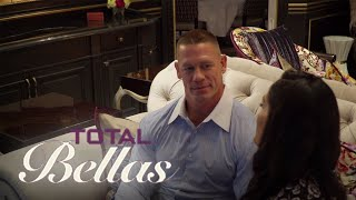 John Cena Admits to Leading Nikki Bella On to What?! | Total Bellas | E!