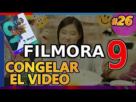 CONGELAR FOTOGRAMA DE VIDEO En Filmora 9, PANTALLA, Freeze Frame, Detener Tiempo Tutorial 26 Español