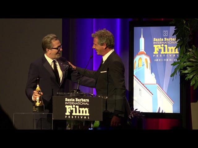 SBIFF 2018 - Maltin Modern Master - Ben Mendelsohn Presentation & Gary Oldman Speech