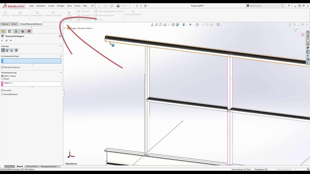 Solidworks Schweisskonstruktion Youtube