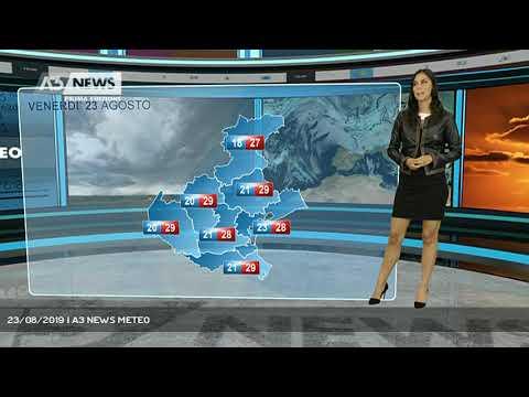 23/08/2019 | A3 NEWS METEOA3 NEWS Prima Ed...