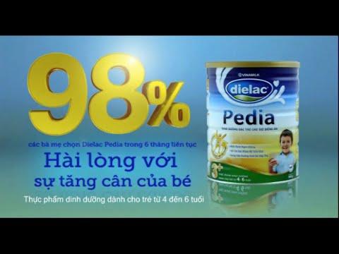 Quảng cáo Vinamilk - Tìm hiểu thông tin và quy trình sản xuất Sữa bột Vinamilk Dielac Pedia (1 phút)
