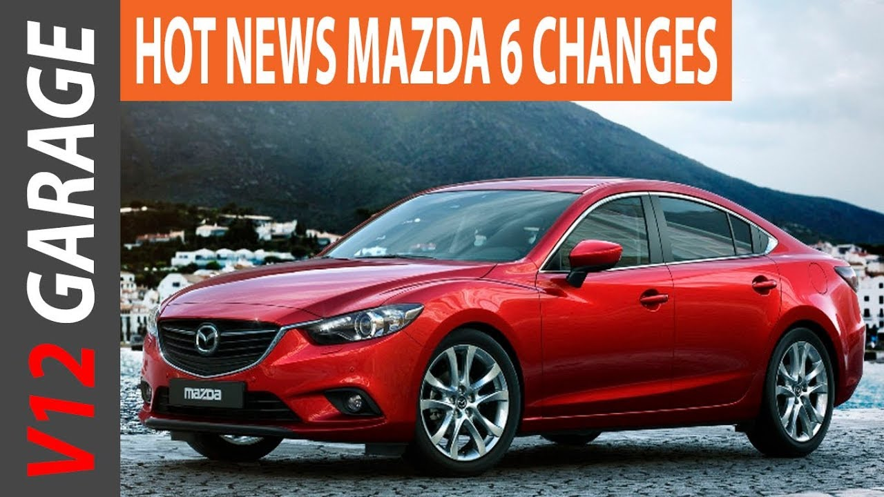 New 2018 Mazda 6 Redesign Release Date And Price