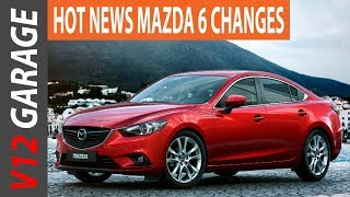 NEW 2018 Mazda 6 Redesign, Release Date And Price