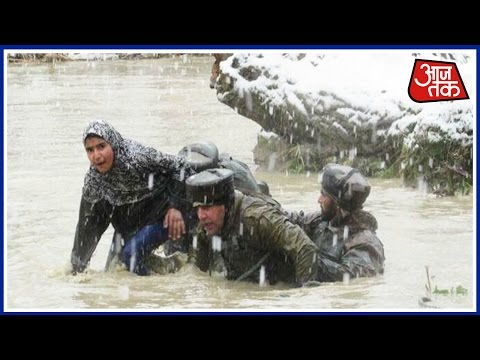 Jammu Kashmir Floods:  Indian Army To Rescue Again