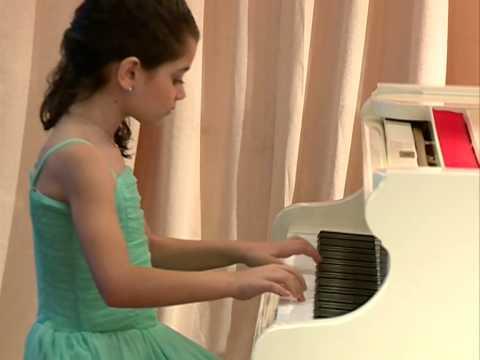 В.А.Моцарт, Rondo alla turca простая обработка два ...