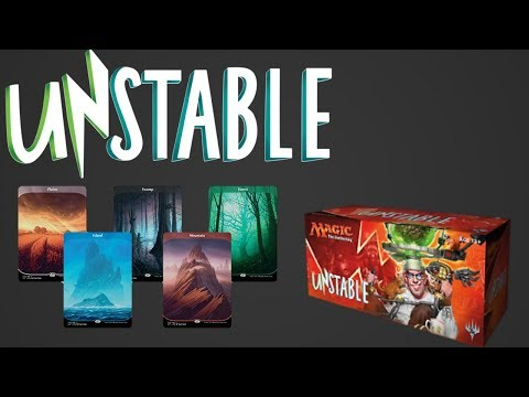 Offical MTG Unstable Booster Box Opening