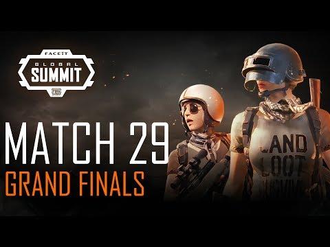 FACEIT Global Summit - Day 5 - Grand Finals - Match 29 (PUBG Classic)