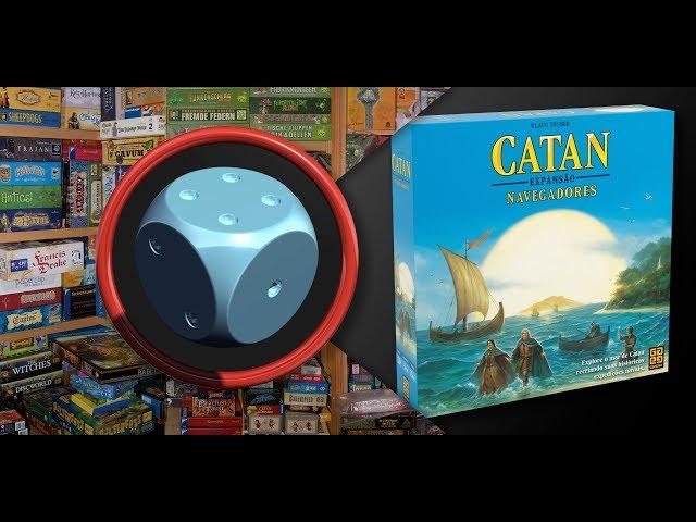 Catan - Expansão Navegadores - Como Jogar
