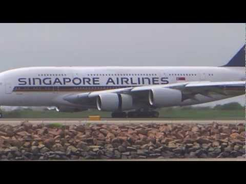 Wide body aircraft at Sydney Airport