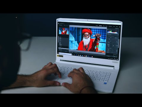 An IMPRESSIVE Laptop for Photographers and Content Creators