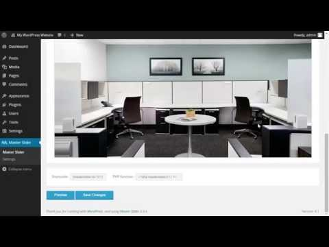 Master Slider free version tutorial - create a slider