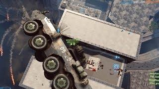 BF4: Flying LAV Attacks Shanghai Tower