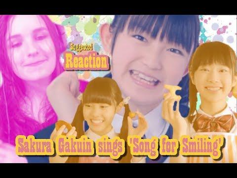 Sakura Gakuin sings 'Song for Smiling' | Suggested Reaction #49