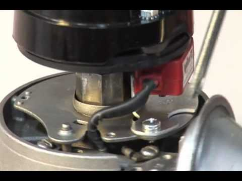 Installing PerTronix 1181 Ignitor or 91181 Ignitor II into standard Delco Remy Distributor  YouTube
