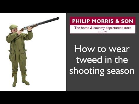 How To Wear Tweed In The Shooting Season