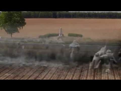 Mémorial de Chaudun (Aisne) 18 Juillet 1918