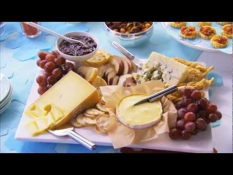 how to make a cheese platter arrangement youtube