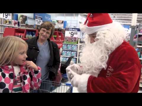 Santa Visits Walmart! - 12/13/2014