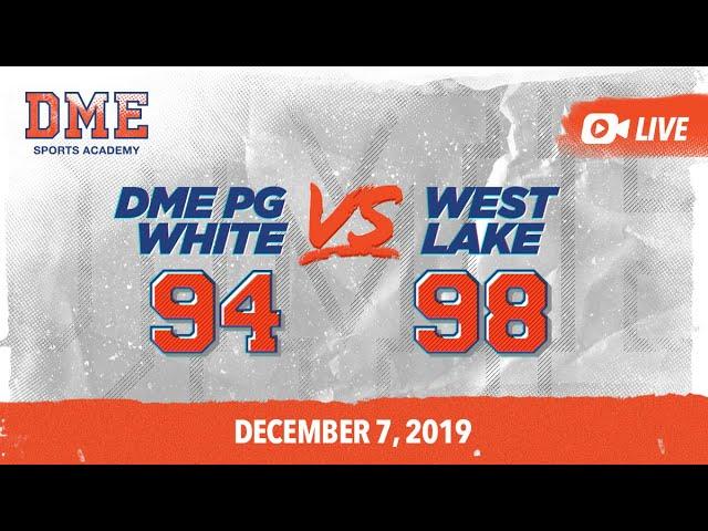 DME PG White vs Westlake