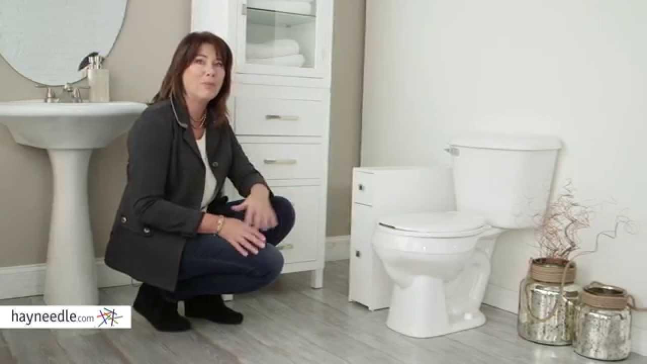 Belham Living Longbourn Narrow Bath Cabinet - Product Review Video ...