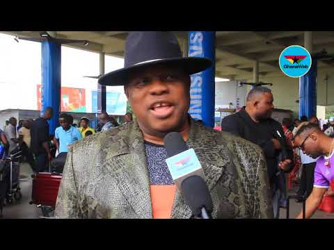 Kanda Bongo Man arrives in Ghana for African Legends Night