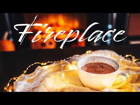 Smooth JAZZ & Fireplace - Relaxing Background JAZZ & Bossa Nova - Chill Out Music
