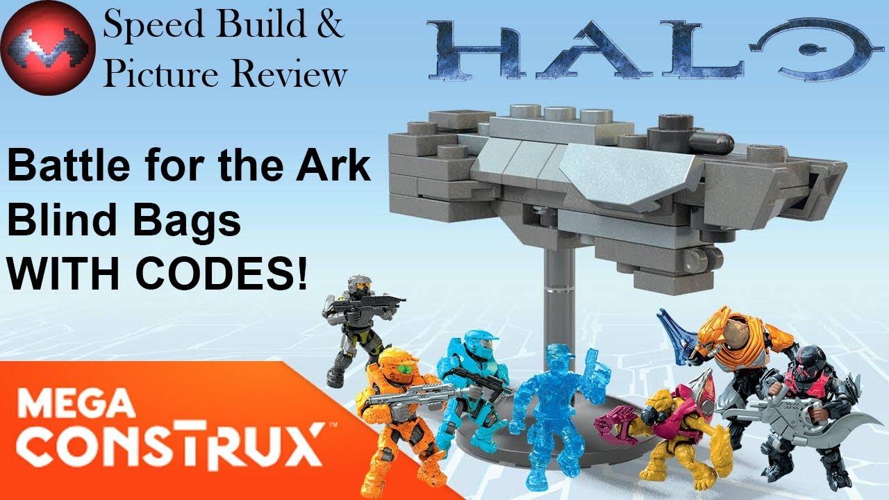 HALO Mega Construx MARINE BATTLE FOR THE ARK