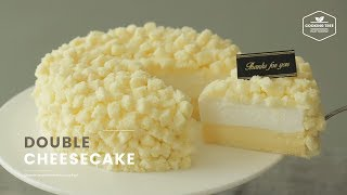 더블 치즈케이크 만들기 : Double Cheesecake Recipe : ダブルチーズケーキ | Cooking tree