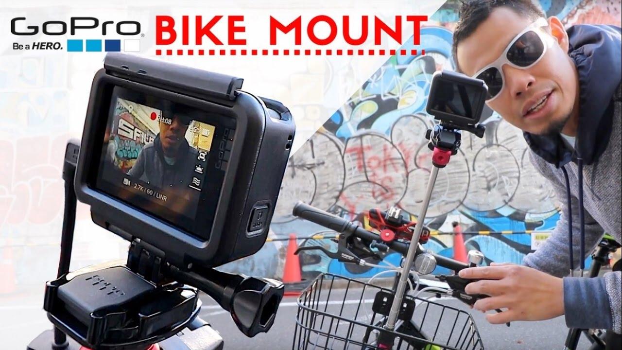 How To Mount A Gopro Hero 5 On Bike Vlogger Hack Youtube Telkomsel 17 Session