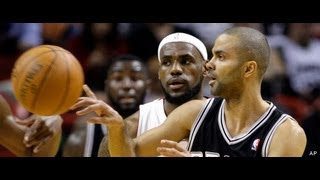 Tony Parker vs. LeBron James! Who is the MVP in the 2013 Playoffs?